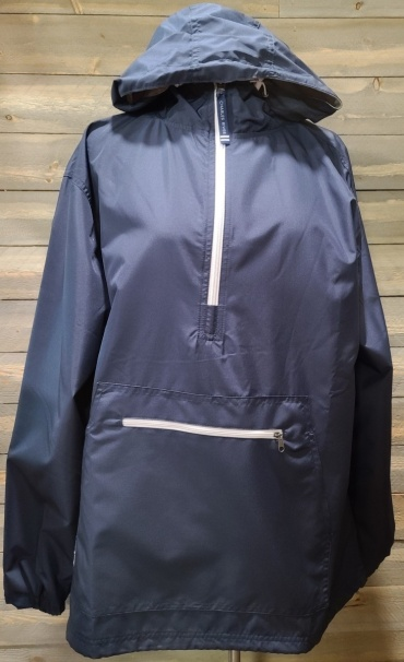 Navy Pack-N-Go Pullover Large