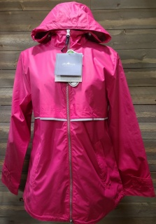 Dark Pink Rain Jacket Small