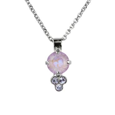 "Must-Have Pendant ""Sun-Kissed Lavender\""-Rhodium"