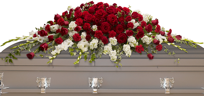 Garden of Grandeur Casket Spray